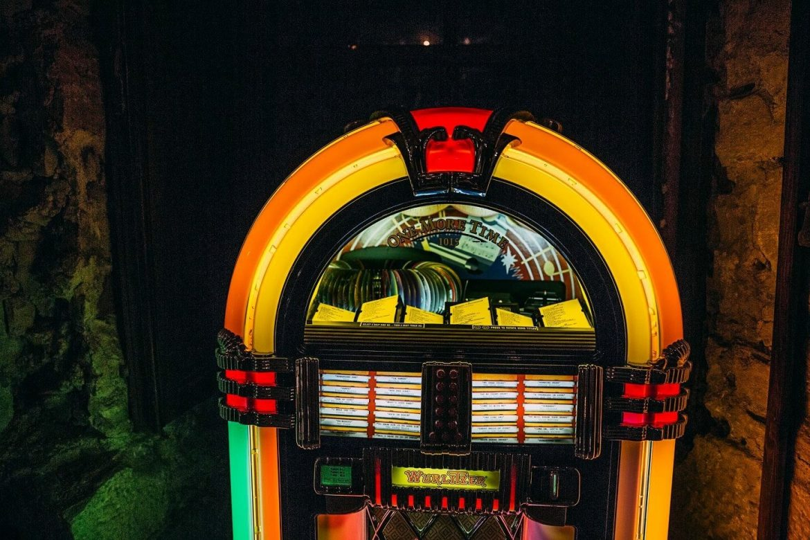 Jukebox Wurlitzer front
