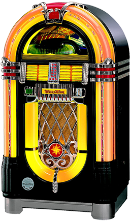 jukebox hire small black